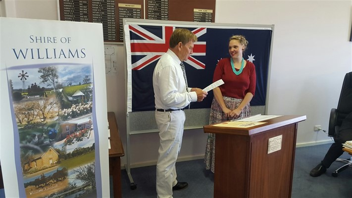 Miscellaneous - Citizenship Ceremony for Candace Scicluna, October 2015