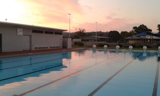 Miscellaneous - Pool at Sunset
