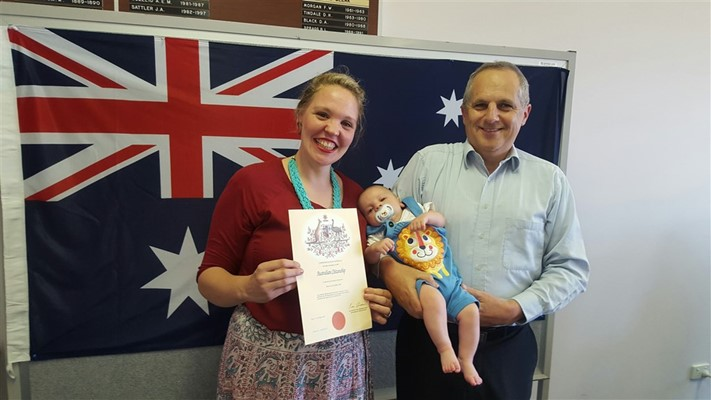 Miscellaneous - Scicluna Family after Citizenship Ceremony, October 2015